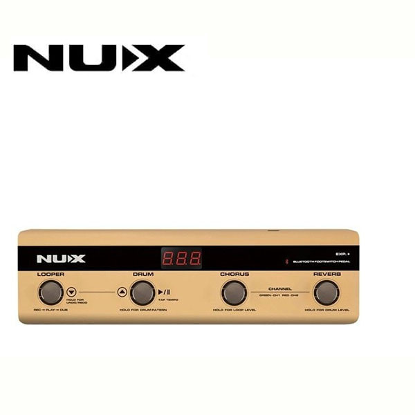 Nux Foot Controller for Stageman / 스테이지맨 전용 블루투스 컨트롤러 (NMP-4)