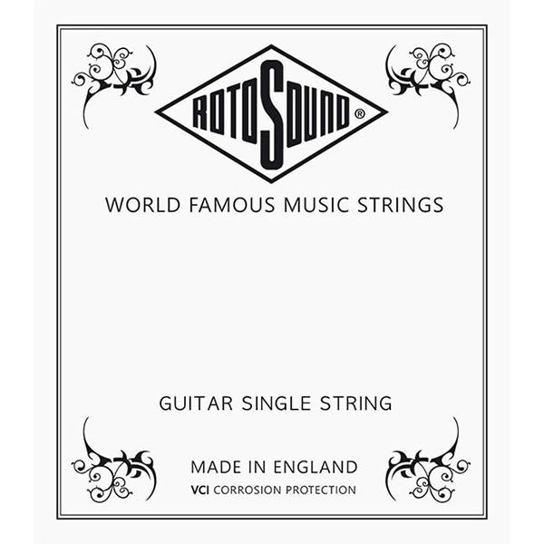 RotoSound CUSTOM NICKEL SINGLE STRING / 012 게이지 낱줄 (NP012)