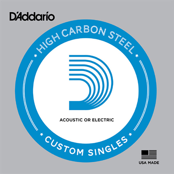 Daddario High Carbon Steel Single String / 다다리오 낱줄 (게이지 선택)