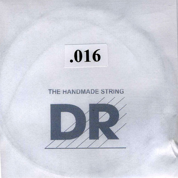 DR Plain Single String 016게이지 3개묶음
