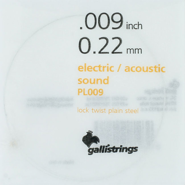 Galli String ProCoated Electric&Acoustic 코팅 낱줄 009(PL009)