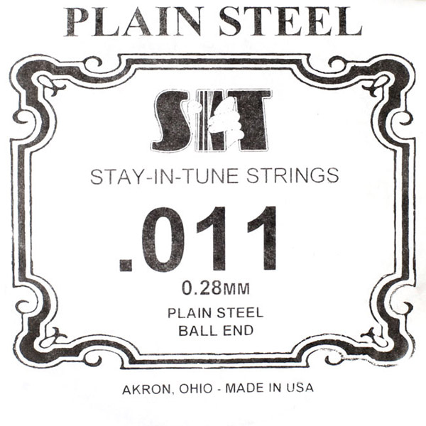 S.I.T Plain Steel Ball End 낱줄 011