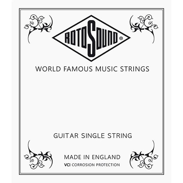 RotoSound CUSTOM NICKEL SINGLE STRING / 009 게이지 낱줄 (NP009)
