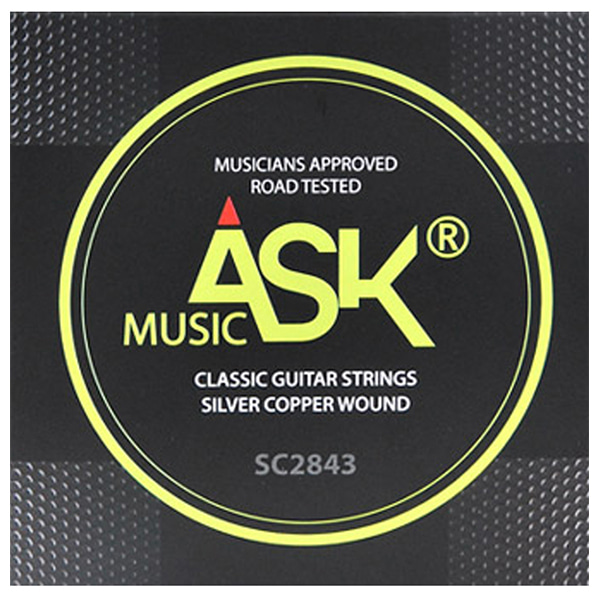 ASK MUSIC NORMAL TENSION 클래식기타 스트링 SC2843 (028-043)