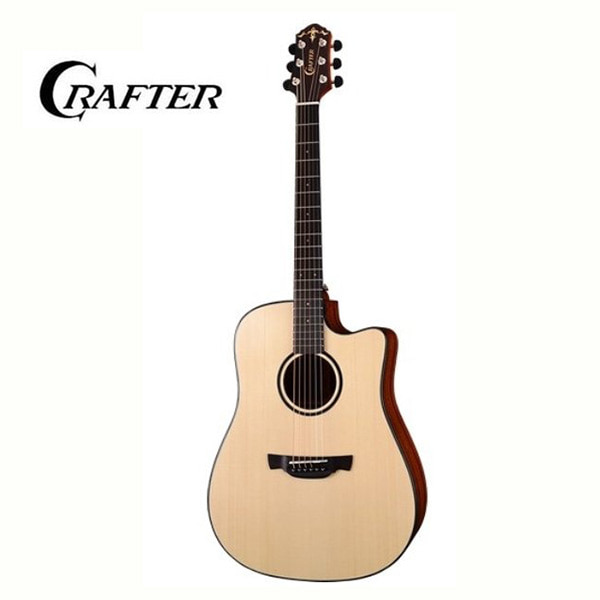 Crafter KDXE-650 ABLE / TOP SOLID & LR-T NX EQ , SATIN / 크래프터 통기타